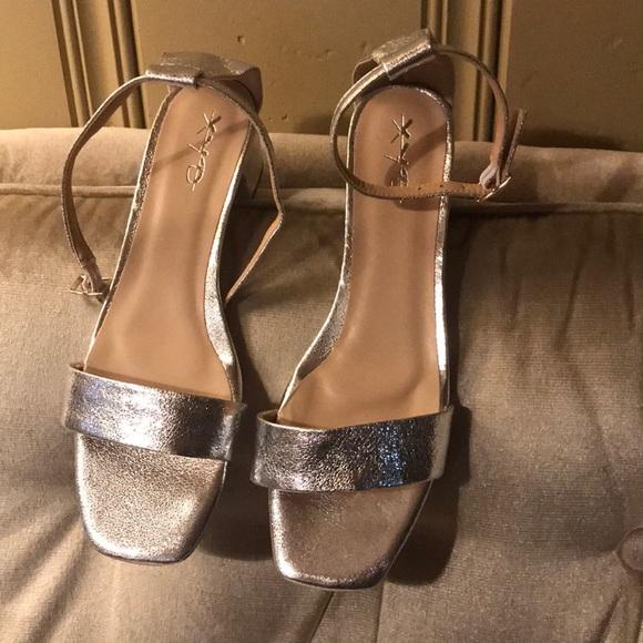 olx Shoes   Silver Sandals   Poshmark